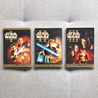 SAGA STAR WARS (DVDs + Extras)