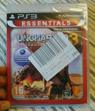 Videojuego Uncharted 3 PS3 nuevo