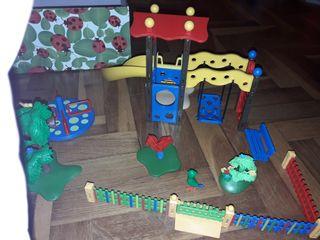juguete parque infantil playmobil