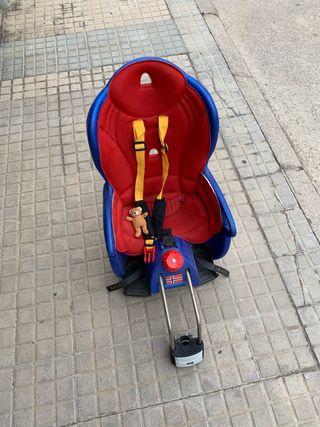 Sillita bici porta bebés Hamax