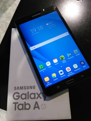 Solo hoy y mañana Samsung galaxy Tab A6