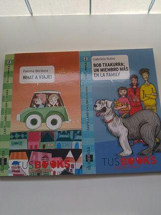 Libros aprendizaje de idiomas. Castellano-Ing-Eusk