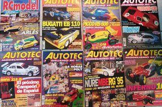 lote revistas radio control