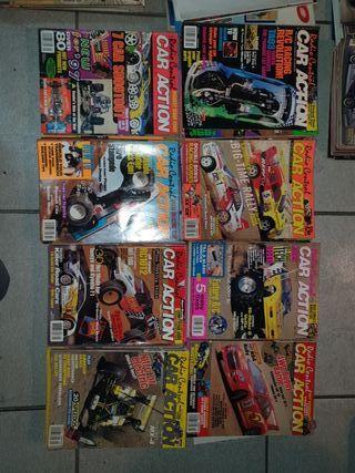 lote 47 revistas car action radio control