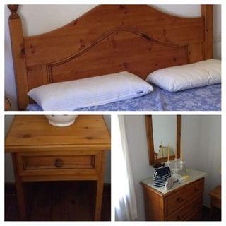 Conjunto muebles dormitorio 5 piezas