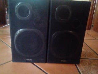 Altavoces Philips antiguos
