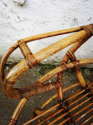 Sillones bambú Vintage