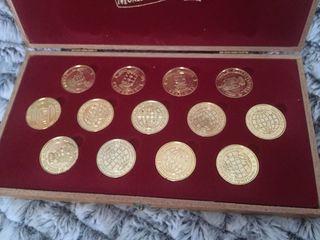 Arras boda. Monedas Heráldicas