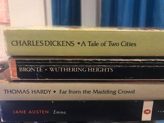 Pack literatura inglesa