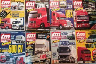 lote revistas camiones y transporte