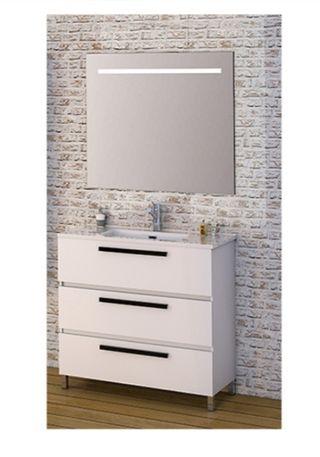 Mueble de lavabo + espejo (Nuevo)