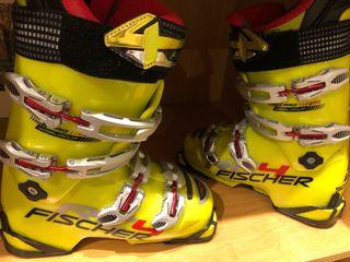 Botas esquí Fischer wordcup Rc4 chica