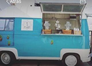 Food truck Renault Estafette vintage