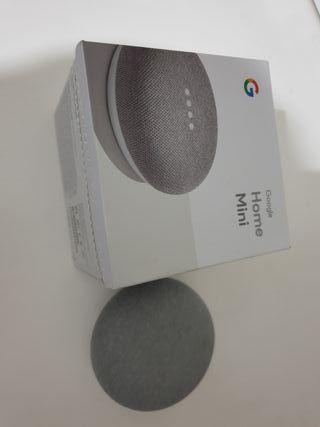 Google mini + enchufe inteligente
