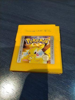 Pokémon amarillo Game boy