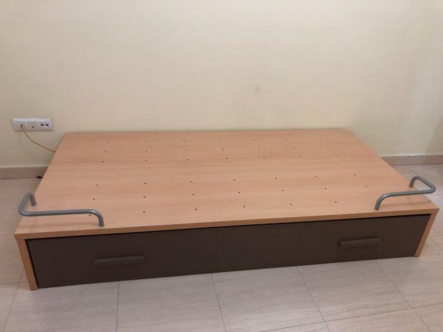 Base para 2 camas de 90. Medidas 201*102*33