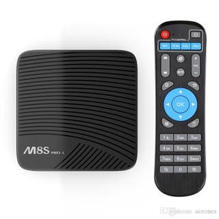 ANDROID TV BOX M8S PRO L
