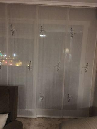 Cortina de panel japones