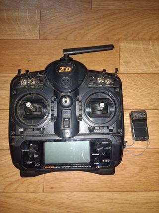 Emisora avión drone
