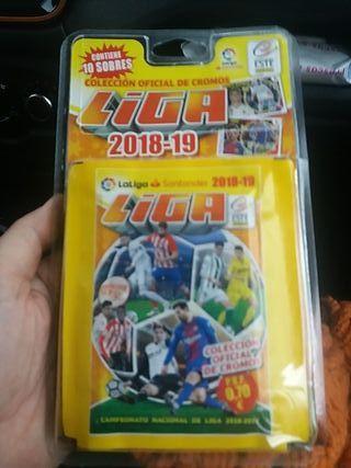 Liga Este 2018-2019 pack 10 sobres