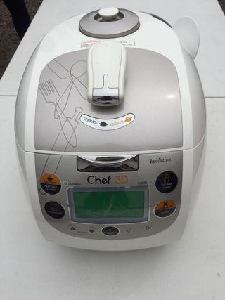 Robot de cocina Chef 3D evolution