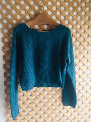 Suéter turquesa