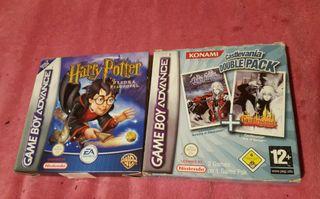 Castlevania y Harry Potter GBA