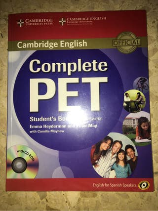 COMPLETE PET CAMBRIDGE ENGLISH