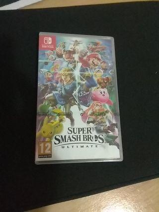 Super Smash Bros Ultimate nuevo sin abrir
