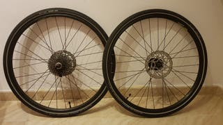 Ruedas bicicleta completas