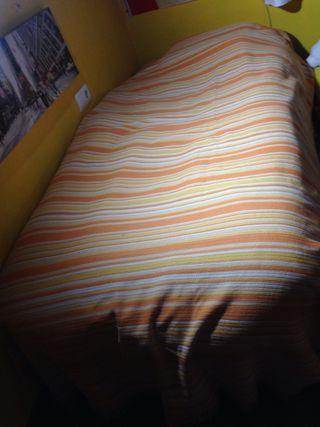 Colcha algodon cama 90