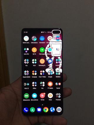 Galaxy S10+ de 512 Gb acabado Negro Cerámico