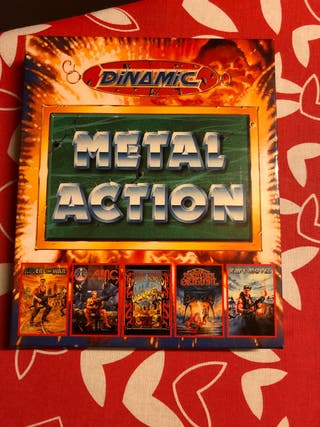 METAL ACTION COMMODORE 64 Dinamic