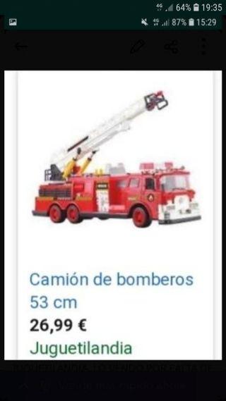 CAMION BOMBEROS