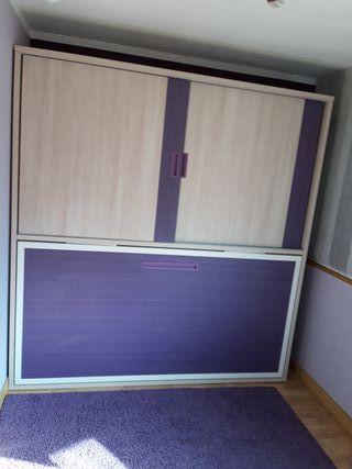 armario con cama nido