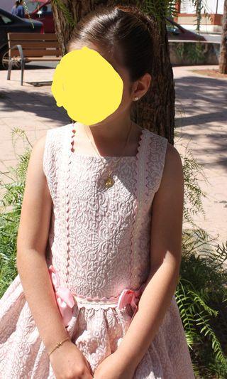 Vestido de dolce petit talla 8