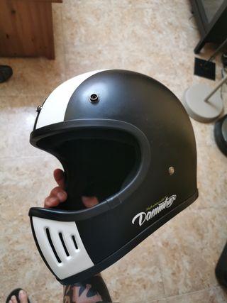 casco integral tipo retro importado japon