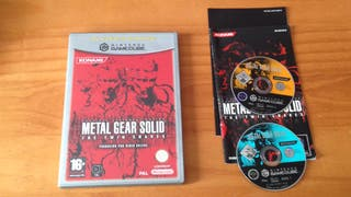 Metal Gear gamecube the twin snakes