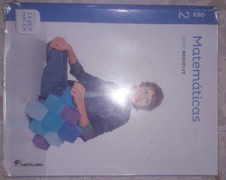 Libro de matemáticas Santillana