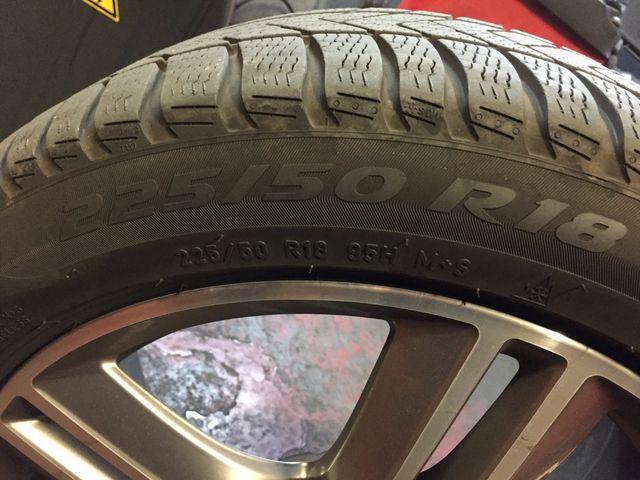 225/50 R18 Pirelli / Neumaticos de invierno