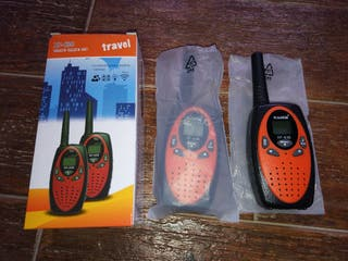 2 Walkies Talkies 100% NUEVOS