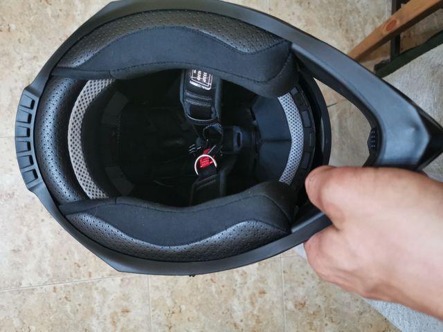 casco ixs integral talla 57-58. nuevo