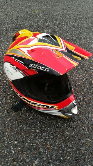 casco moto cros oneal