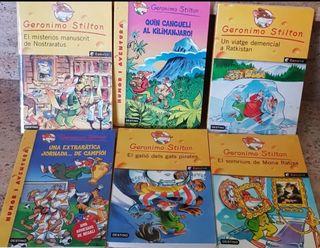 Llibros infantiles Gerónimo Stilton