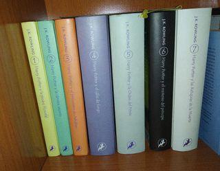 Colección completa Harry Potter 1-7