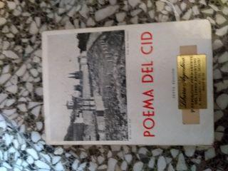 """libro """"El poema del Cid"""""""