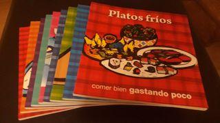 Libros de cocina fácil, 9 libros