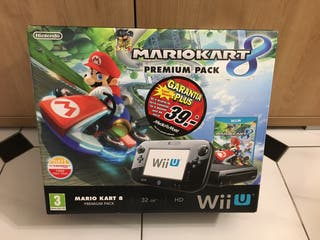 Nintendo WII U negra 32 Gb (con extras)