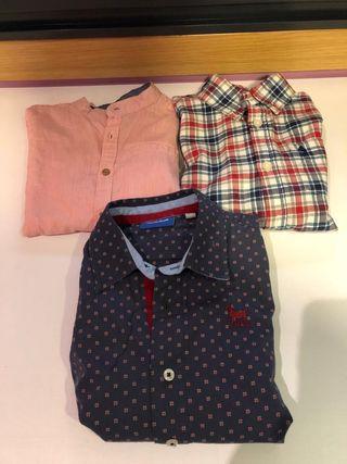 3 camisas niño