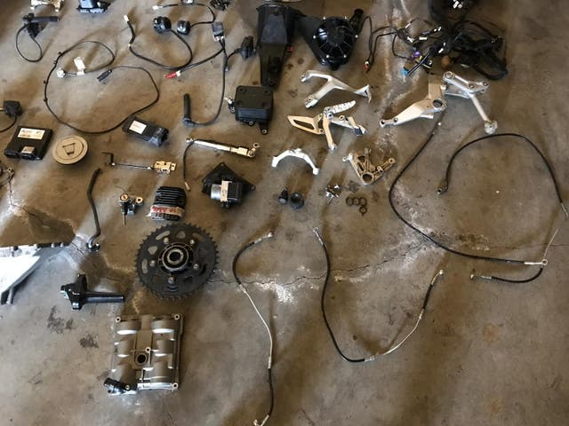 Ducati panigale 899 repuestos